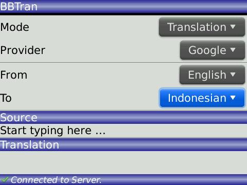 BBTran (Online Translator) | My KenBerry